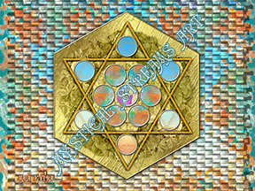 Metatron's Cube by Maia
